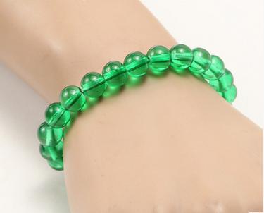 Transparente verde