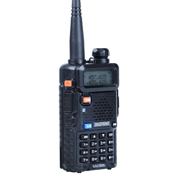 Baofeng UV-5R Walkie Talkie de doble banda UV5R portátil CB estación de radio de mano UV 5R UHF VHF Radio bidireccional para la búsqueda de radio