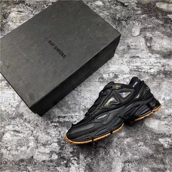 Оригиналы x Raf Simons Ozweego 2 II Кролик черный кроссовки спортивные кроссовки для мужчин