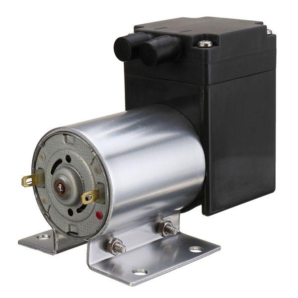 best selling DC 12V Mini Noiseless Vacuum Pump Negative Pressure Suction Pump 5L min 80kpa