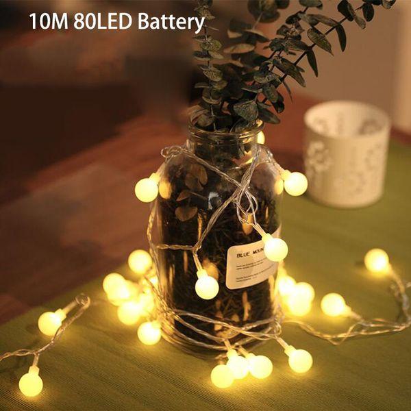 10m80LED battery