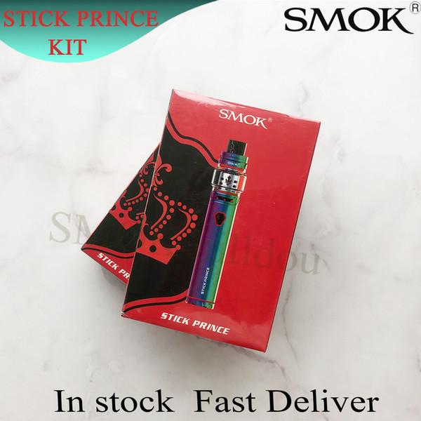 100% подлинный смок ручки принц комплект ручка стиль 3000mAh батареи Vape ручка стартовый комплект с 8мл принц бака TFV12