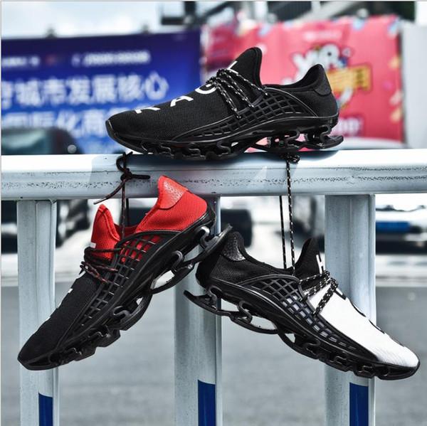 Mektup RAGF SPOR Üçlü Sneaker Yaz bıçak nefes örgü açık koşu ayakkabıları spor yürüyüş ayakkabıları A253