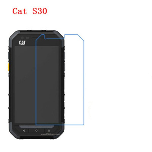 5 Pcs Ultra Thin Clear HD LCD Screen Guard Protector Film With Cleaning Cloth For Cat S30!