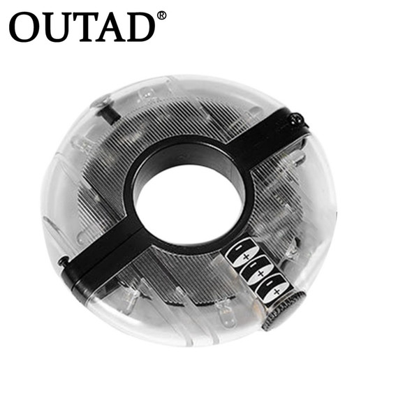 OUTAD 1pc Cycling Lights Waterproof MTB Road Bike Front Rear Spoke Wheel Decoration Lamp Safety Warning Bicycle Hubs Light