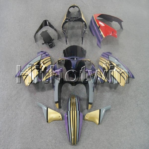 23colors+8Gifts purple Body Kitmotorcycle cowl for Kawasaki ZX9R 1998-1999 ZX-9R 98 99 ABS Plastic Fairing