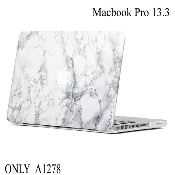 Fashion Marble Stone PC For Macbook Pro 13 A1278 Laptop Case Hard Protective Cover For Macbook Pro 13.3 Laptop Sleeve Cover