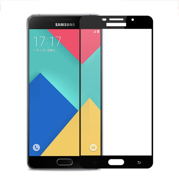 9H Full Cover Tempered Glass For Samsung Galaxy A3 A5 A7 2016 2017 Screen Protector Film For Galaxy A510 A520 A710 A720
