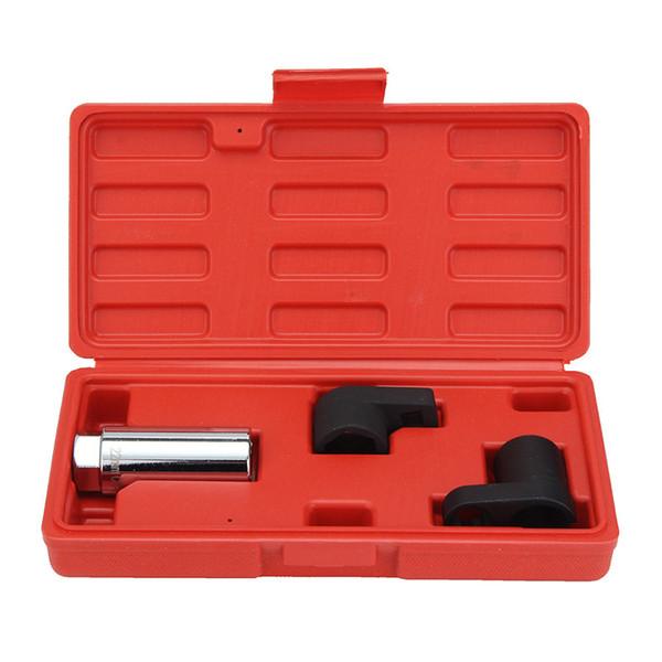 "Freeshipping 3Pcs/lot Auto Car Oxygen Sensor 6 Point Socket Wrench 7/8"" O2 Tool Remover Installer"