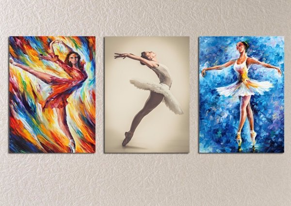 Hot Sale sexy open photos Ballet Girl b f wallpaper Wall art 2018 canvas painting Poster Body The new listing Free shipping