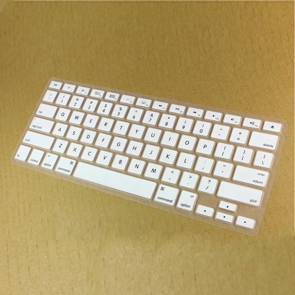 Versión EE. UU. Skin Keyboard Protector Silicona Portátil para portátil Protector de la cubierta del teclado Para Apple Macbook Pro Air 13 15 17