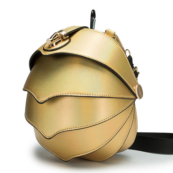 Funny Pangolin shape women Messenger Bags Manis pentadactyla Crossbody Bag High-quality Diagonal package Original girl waist bag