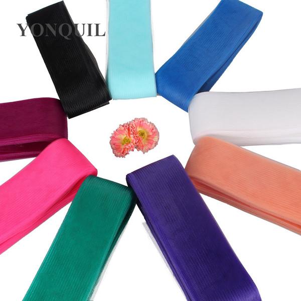36 Colors Available 2.35'' /6cm Crinoline horsehair net fabric 100% nylon hair accessories fascinators craft made headdress 100yards/lot