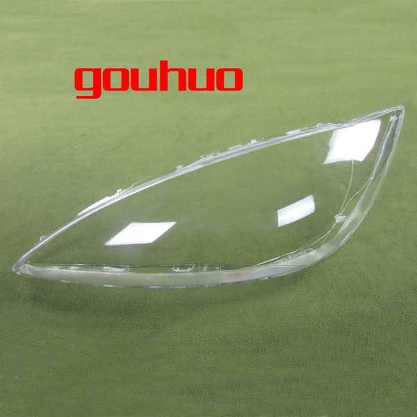 transparent lampshade lamp shade front Headlight shell headlamp cover glass lens For Toyota Camry 2005 2pcs