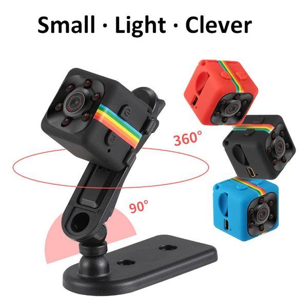 SQ11 Mini Cámara Full HD 1080 P Videocámara de Visión Nocturna DVR Infrarrojo Grabador de Video Deporte Cámara Digital Soporte TF Tarjeta DV Cam