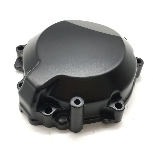 Cubierta del estator del motor de la motocicleta negra cubierta del estator para Kawasaki Ninja ZX10R 2006-2010 2007 2008 2009