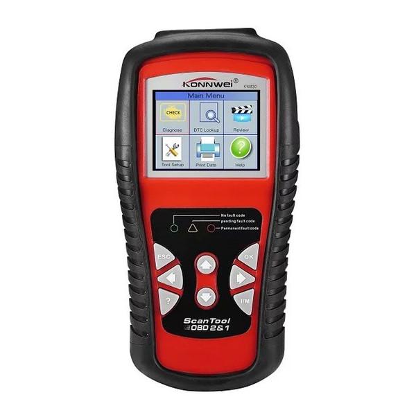 KW830 OBD2 OBDII EOBD Scanner Car Code Reader Data Tester Scan Diagnostic Tool high quality