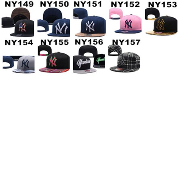 HEISSER Verkaufs-Großhandel Baseball-Golf-gepaßte Hüte für Männer und Frauen mit NY Sport-Hysteresen-Hut-Baseballmütze Hiphop-justierbaren Kappen