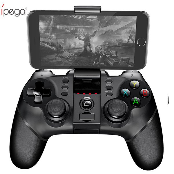 iPega PG Gamepad Wireless Bluetooth Game Controller Controller Gamepad con Joystick TURBO per Android / iOS Tablet PC Cellphone TV Box