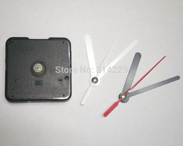 Preço de atacado 50 pcs Mudo Relógio de Quartzo Movimento Para Mecanismo de Relógio Reparação Diy Relógio Peças Acessórios Eixo 13mm