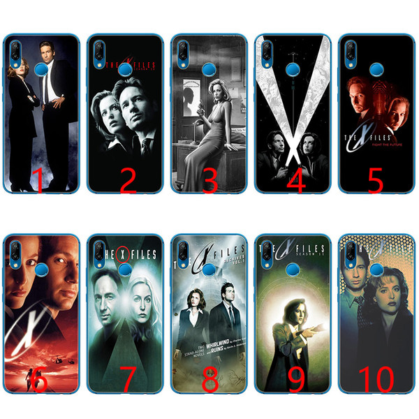 The X Files Soft Silicone TPU Phone Case for Huawei Honor 7A Pro 6A 7X 8 Lite 9 Lite 10 Cover