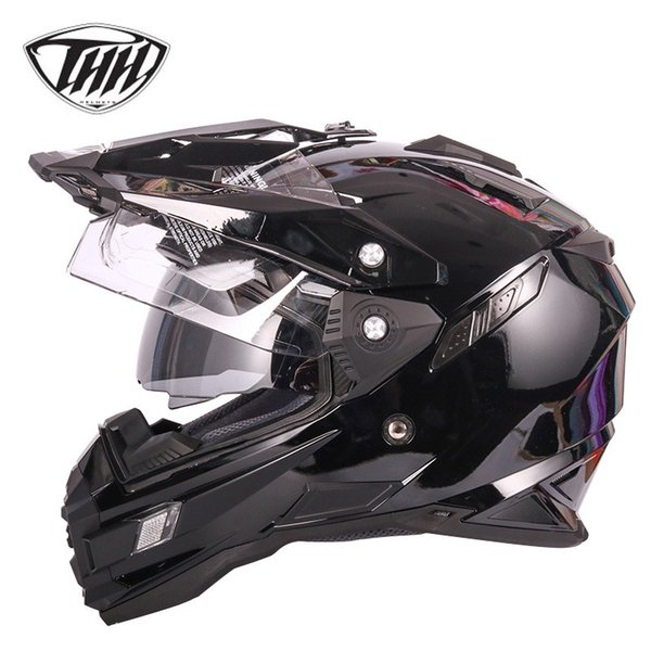 Mens Motorcycle Helmet Motorbike Helmet Motocross Helmets Casque Moto Cross Atv Off Road Full Face Racing Helmet Dot Cool Motorcycle Helmet For Sale