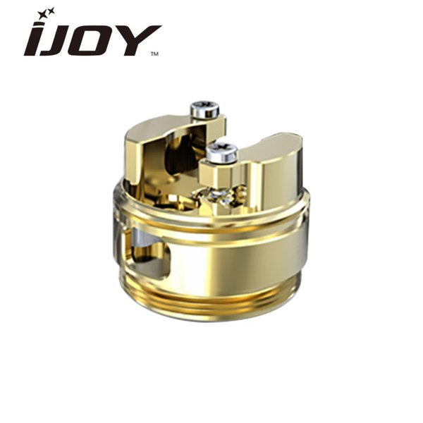 1ps IJOYCaptainELITERTABuildDeck for Captain Elite Atomizer with Gold-plated two Posts for Easy Single Coil Building