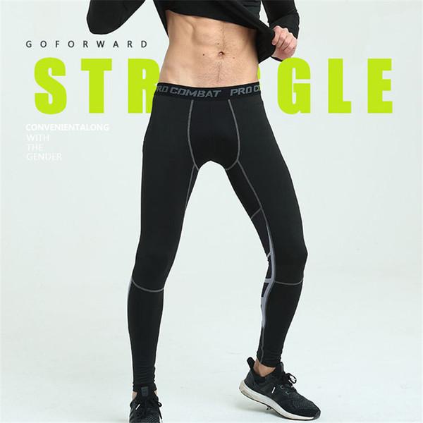 Nuevos Pantalones de compresión para hombre Pantalones deportivos para  correr Pantalones de baloncesto Pantalones de deporte b4de5bc6224f