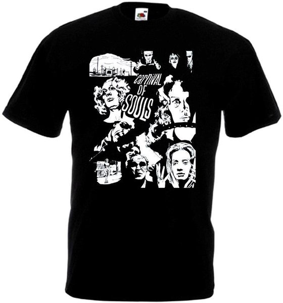 T Shirt Novelty Carnival of Souls v1 T-shirt black poster all sizes S...5XL Hot Sale Casual Clothing