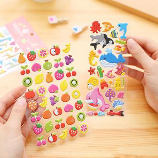 Acheter Autocollants 3d De Dessin Anime Pour Enfants Parti Telephone Livre Decoratif Journal Papier Journal Autocollant Jeu Cadeaux Pour Enfants