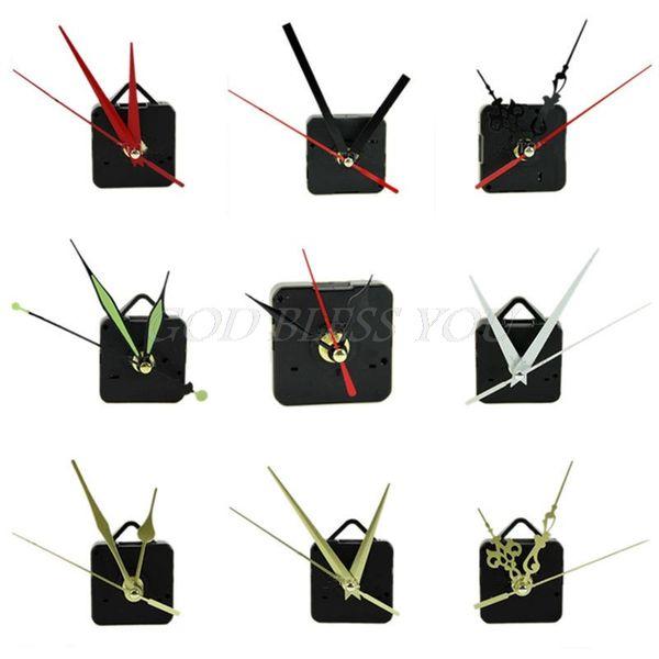 Quarzuhr Uhrwerk Mechanismus Hände Wand Repair Tool Teile Leise Kit Set DIY Wanduhren