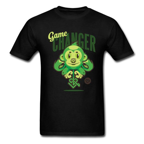 Cartoon Man T-shirts Hope the Monkey Funny Tshirt Game T Shirts Short Sleeve Tops Tees Summer On Sale Crewneck 100% Cotton Clothing