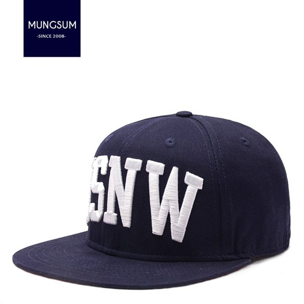 2018 new 3D embroidery hip-hop hat, men's and women's casual street dance, flat hat, outdoor baseball cap wholesale