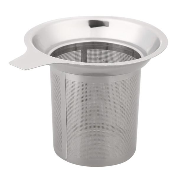 Mesh Tea Infuser Reusable Tea Strainer Teapot Stainless Steel Loose Tea Leaf Spice Filter Drinkware Kitchen Accessories