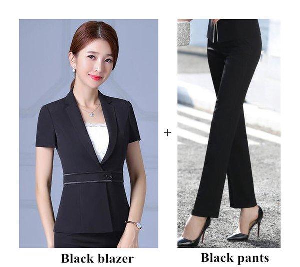 Set de pantalon noir
