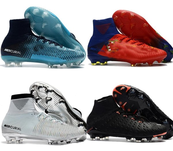 reputable site 1f796 25f8e 2018 2018 Cheap Kids Mercurial Superfly Fg Cr7 Magista Obra Soccer Shoes  Cristiano Ronaldo Cleats Neymar Footbal Shoes Cheapest Soccer Boots From ...