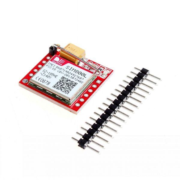 SIM800L GSM GPRS Module Board Micro Sim Transfer Card Core Board with Antenna Compatible with: Arduino,Raspberry Pi