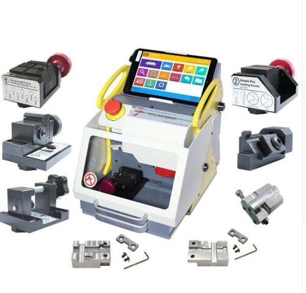 Full Clamp SEC-E9 key copy machine manufacturers Car Key Cutting Machine Latest Version SEC-E9 miracle A7 upgrade version free shipping
