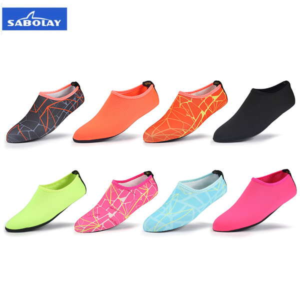 Quality Anti-slip Diving Snorkeling Socks Quick Dry Scuba Boot Water Shoes Printing Sock Breathable Waterproof Sports Beach Sock Flexible