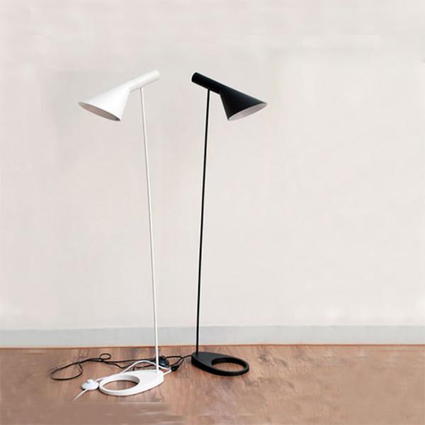 best sneakers 3efc4 71d50 AJ Floor Lamp E27 Black/White Arne Jacobsen Louis Poulsen Metal Stand Floor  Lights For Living Room/Country House/Bar/Hotel UK 2019 From Dress_shop, UK  ...