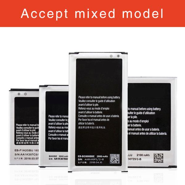 best selling For Samsung Galaxy S2 S3 S4 S5 Top Quality OEM Replacement Battery EB-F1A2GBU EB-L1G6LLU B600BU EB-BG900BBU Batteria Fast Shipping