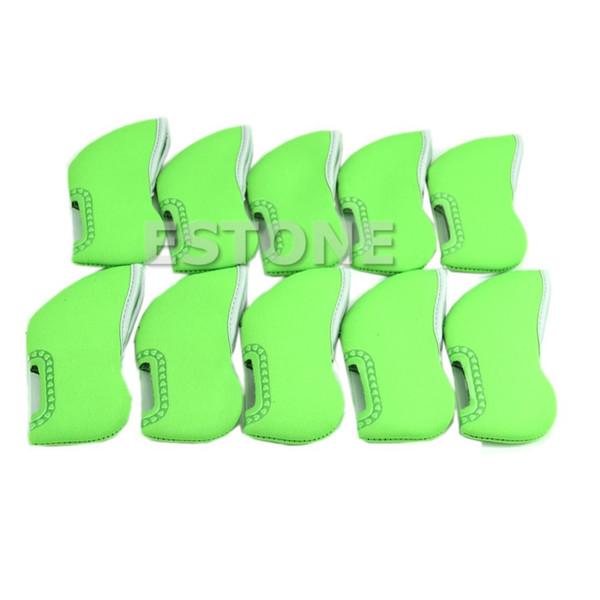 I nuovi copricapo in ferro da golf in neoprene da 10 pezzi coprono i copricapo
