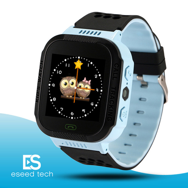 Cute Sport Q528 Kids Tracker Smart Watch with Flash Light Touchscreen SOS Call LBS Location Finder for kid Child pk Q50