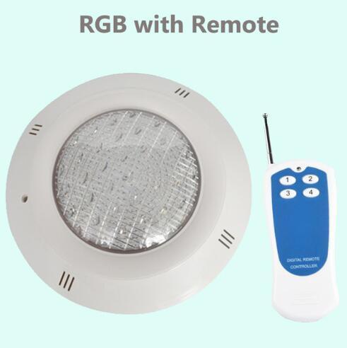 18W RGB com controle remoto