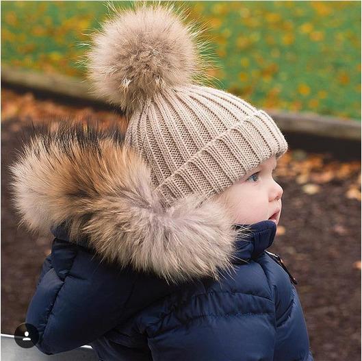 Kids Winter Real Natural Raccoon Fur Collar & Children Scarf Fashion Coat Sweater Scarves Jacket Hood Raccoon Fur Neck Warmer R7 D18102904