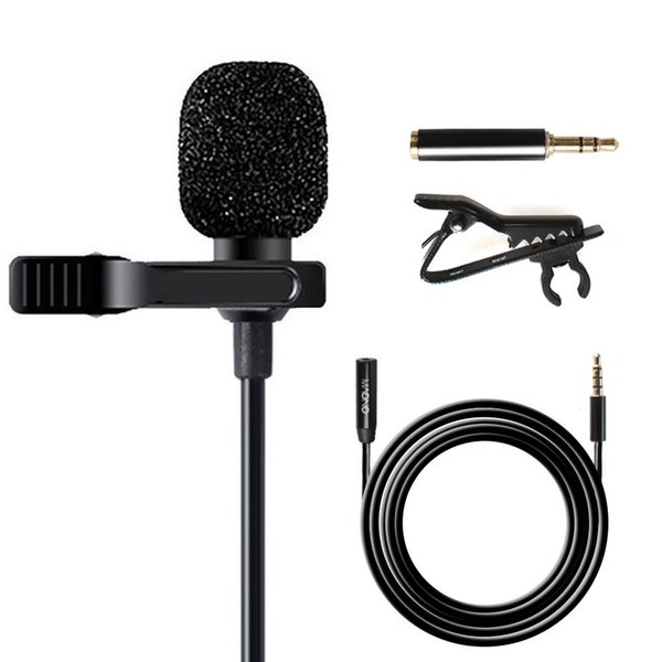 Maono AU-403 Lavalier Microphone with 20ft Extension Cable Lapel Mic Handsfree Clip-on for iPhone, Android, Smartphone, DSLR Cam