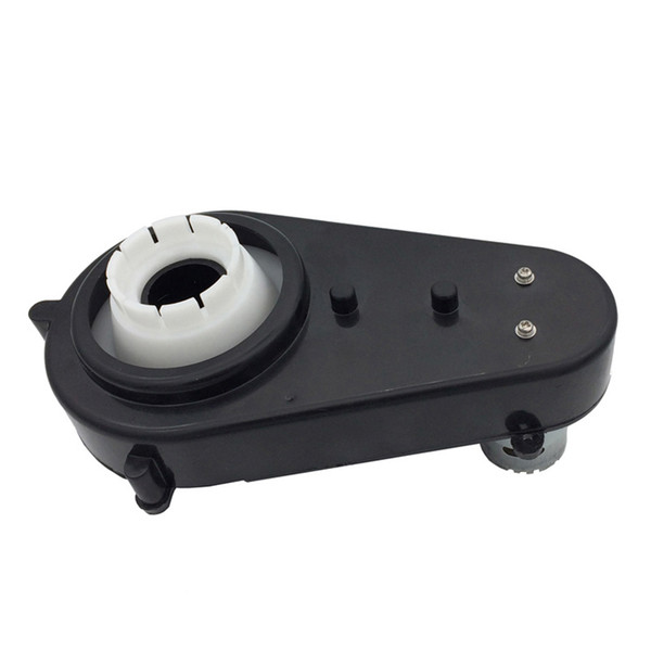 top popular Children electric car Reduction gear box with 5.5V-12V motor,baby car gearbox with 550 engine,electric motor for electric car 2021