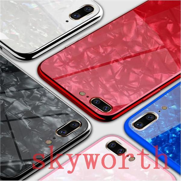 Híbrido caso de 10 para iPhone X transparente ultradelgada de Cubierta Dura Teléfono A Prueba De Golpes Cristal