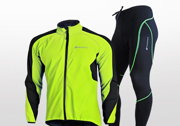 Racing suits wholesale autumn winter warm suit mountain bike riding suit bicycle riding racing clothing