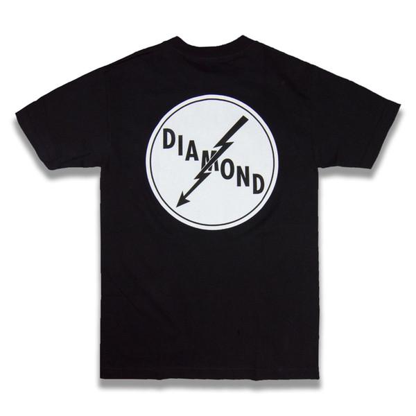 NEW Men Dimond Supply Co Shirt Size S Short Sleeve White Crystal Gem Paris